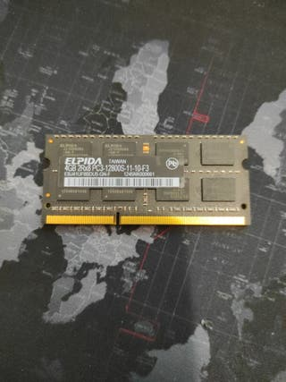 Elpida memoria 4Gb portátil