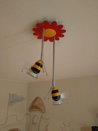 Lámpara infantil abejas