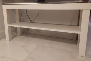 MESA DE CENTRO/TV BLANCO DE IKEA: LACK