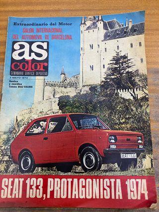 Revista As color mayo 1974 seat 133