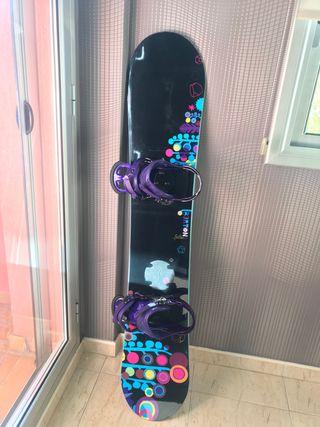 Tabla Snowboard Burton chica 144