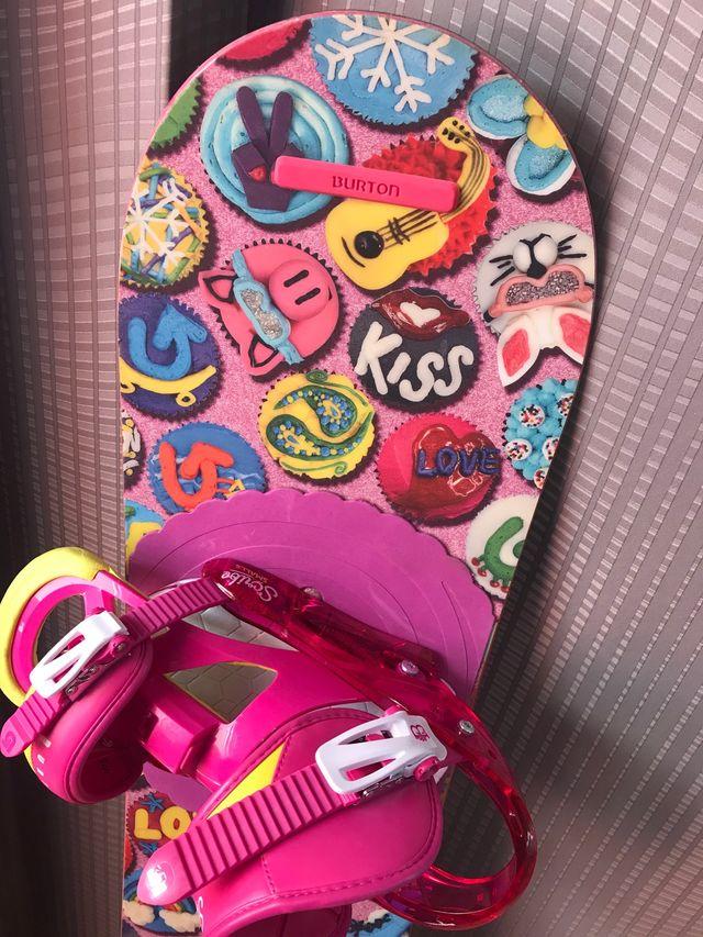 Tabla Snowboard Burton 115 niña infantil