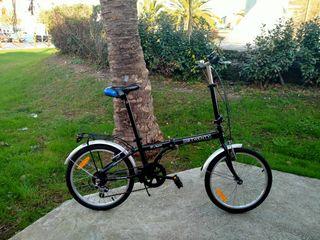Bicicleta plegable de 20 pulgadas