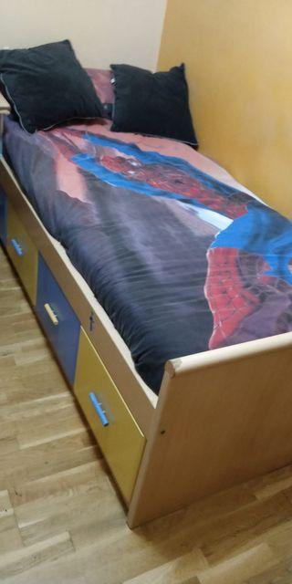 cama juvenil en venta