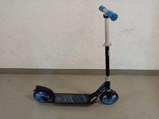 Patinete Scooter Oxelo MID7 Niñ@s Azul y Negro