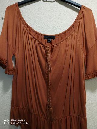 Blusa color teja