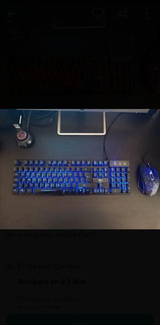 Teclado y Ratón gaming