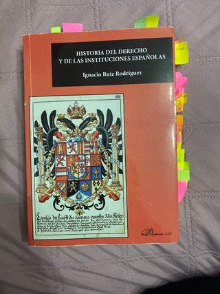 Libro de historia del derecho