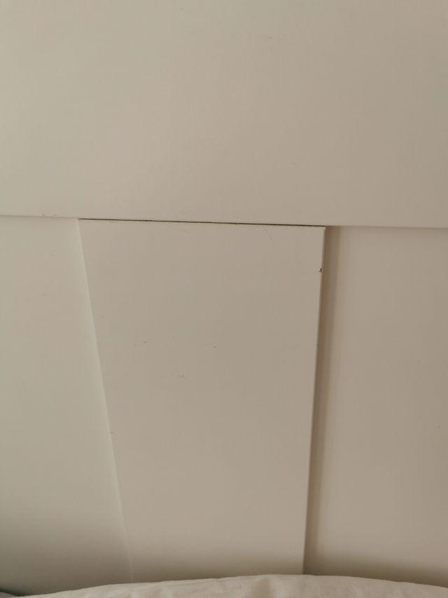 cabecero blanco de ikea
