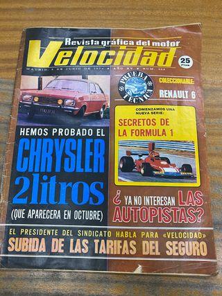 Revista velocidad 1974