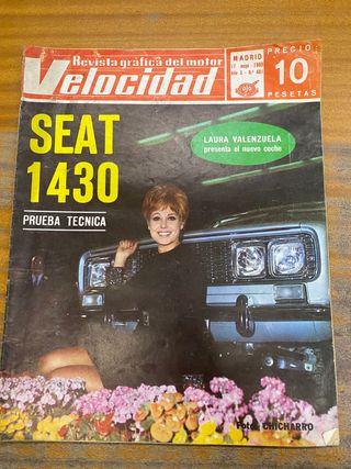 Revista velocidad 1969 el seat 1430