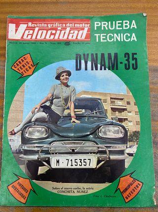 Revista velocidad 1969 marzo 10 ptas