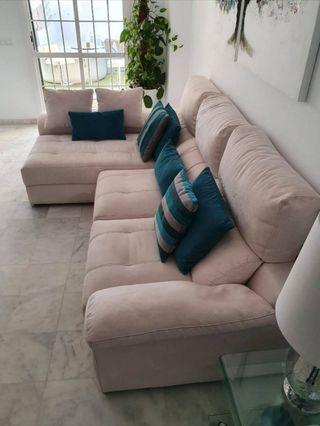 Sofa 3 plazas chaise longue