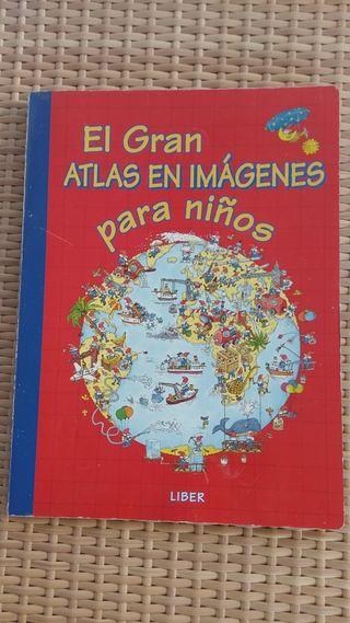 Libro El gran Atlas en imágenes para niños