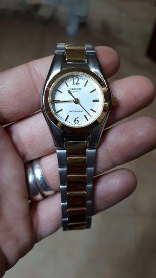 reloj casio chapado oro