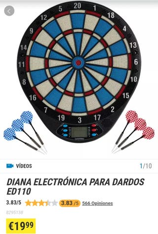 Diana electrónica para dardos