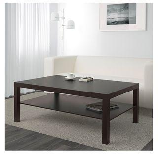 Mesa de Centro IKEA LACK Negro - Marron