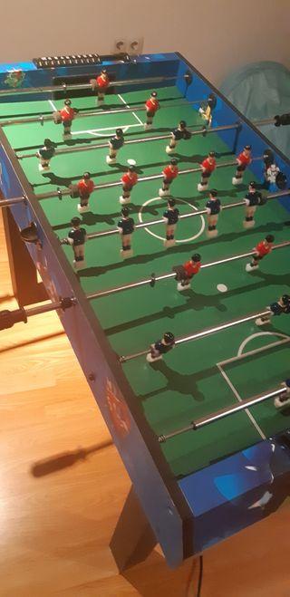 Futbolín, billar, hockey, ping-pong, bolos, ....