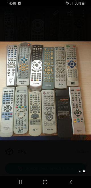mandos varios TV TDT ETC...