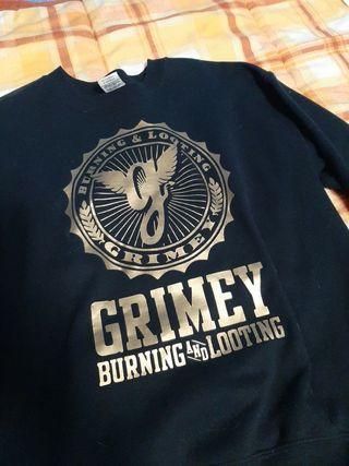 sudadera grimey M