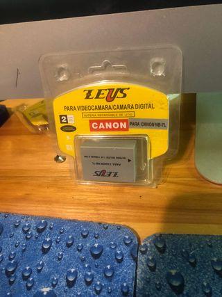 2 baterías cámaras Canon