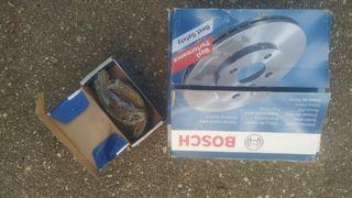 Discos traseros Bosch y zapatas vito 638