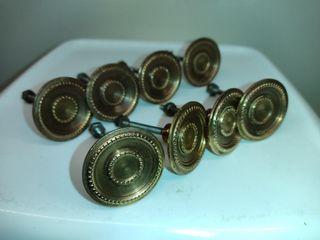 Tiradores de latón-cobre