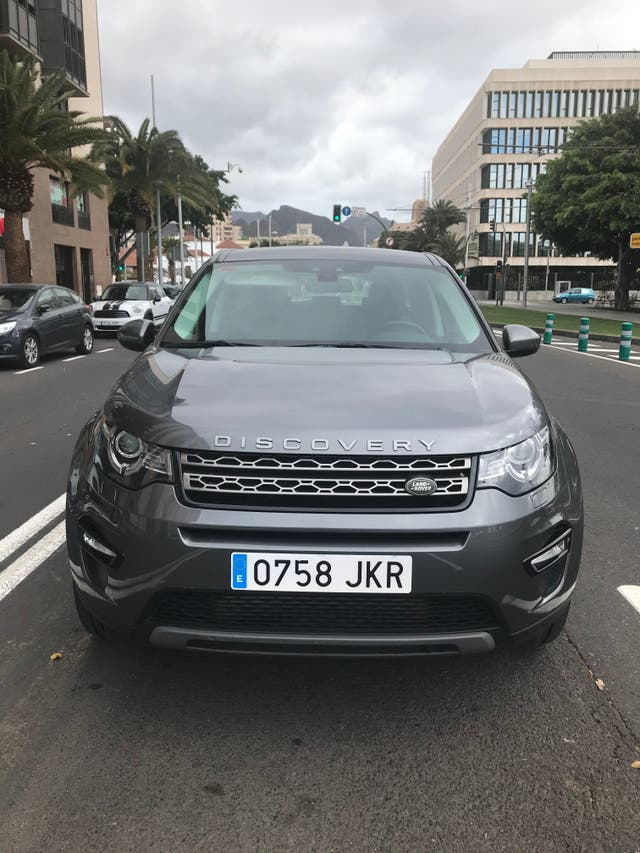 Land Rover Discovery 2015