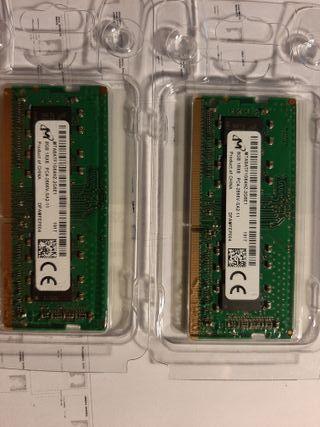 Memoria Ram 2x8GB SO-DIMM DD4 2666