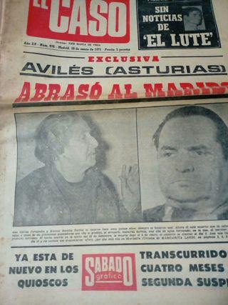 Ejemplar de «El Caso»