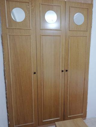 puertas armario roble