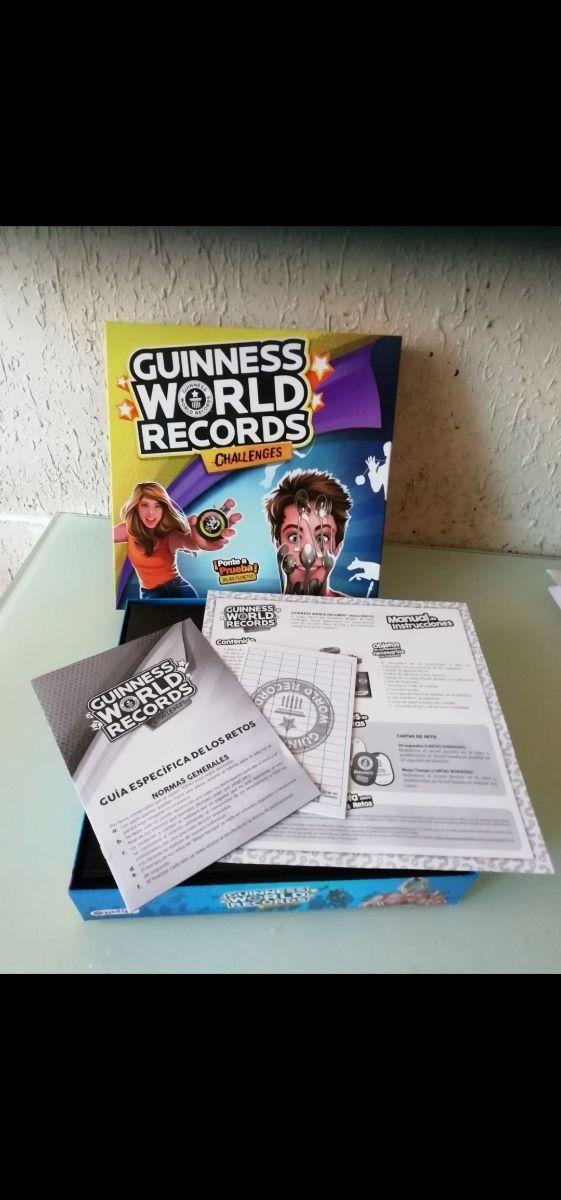 juego de mesa guinners world records