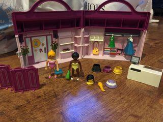 Maletín tienda mujer Playmobil