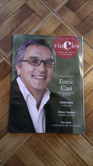 REVISTA VINCLES CAMARA DE COMERCIO BARCELONA