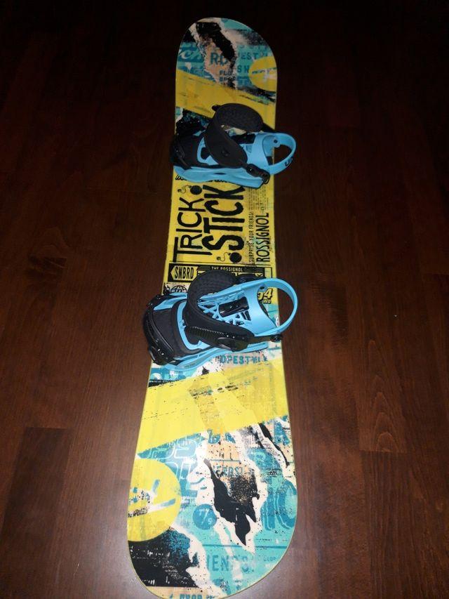 tabla snowboard 154 cm