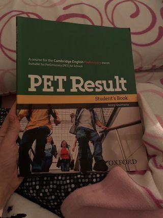 libro b1 inglés PET (cambridge)