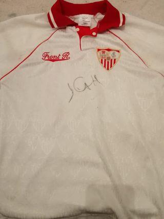 camiseta maradona sevilla fc 92/93