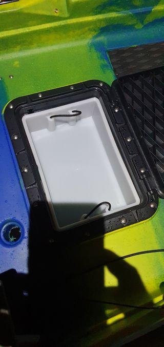 Kayak Nootka a pedales con accesorios