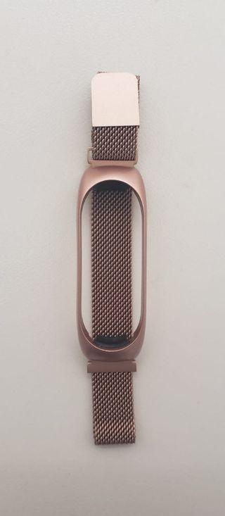 Correa metal color Rosa