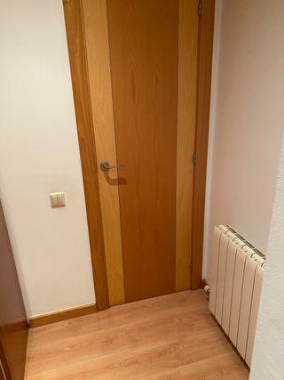 Puertas de haya vaporizada