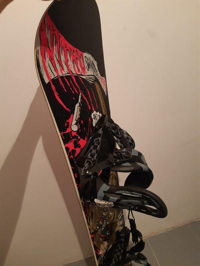 Tabla Snowboard Nitro Swindle + Fijaciones Nitro
