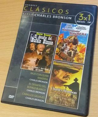 Charles Bronson - 3 películas 1 DVD