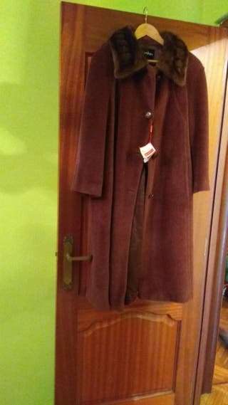 Abrigo, chaquetón de pelo