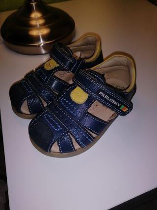 zapato niño pabloski