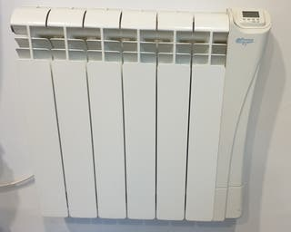 Radiador electrico emisor fluido 900w lcd programa