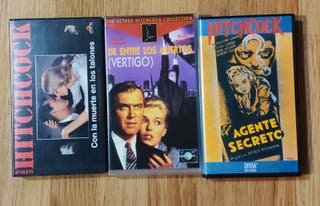 Pack VHS Alfred Hitchcock