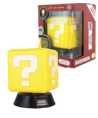 Lámpara question bloque Mario sonido interrogante