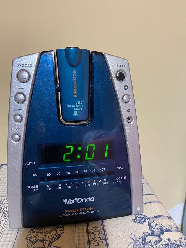 Radio-reloj-despertador de Mx Onda
