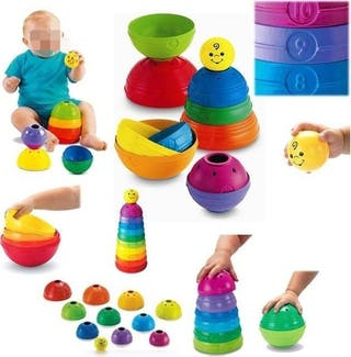 Apilables Stack & Roll Cups Fisher-Price