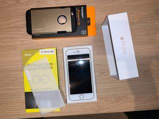 Vendo iPhone 6 de 64 GB Blanco y Oro